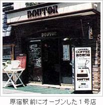 原宿駅前にオープンした1号店