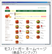 MOS BURGER WEBSITE